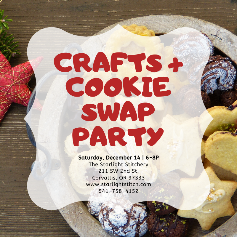 Crafts + Cookie Swap Party