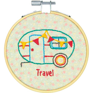 Learn-A-Craft - Camper - Embroidery Kit