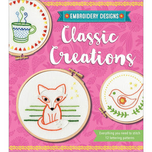 Classic Creations Embroidery Designs Kit