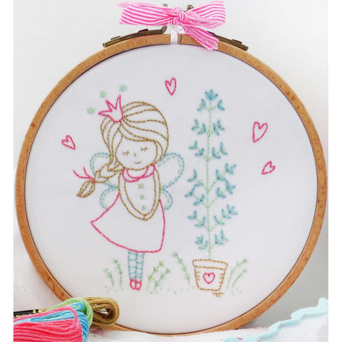 "Shy Fairy 6"" Embroidery Kit"