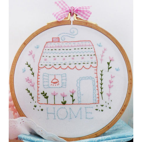 "Home 6"" Embroidery Kit"