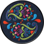 "Bucilla Stamped Embroidery Kit 6"" - Bohemian Paisley"