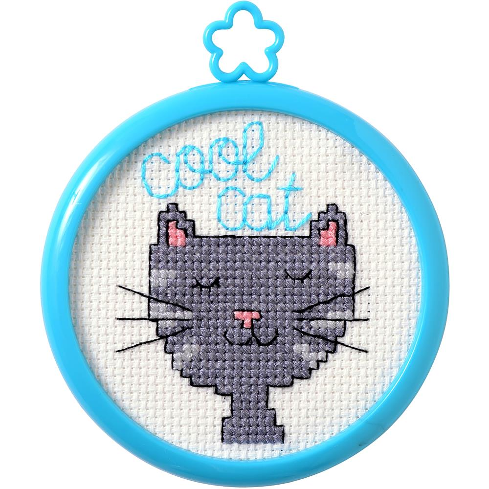 My 1st Stitch - Cool Cat