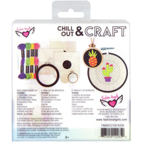 Chill Out & Craft Embroidery Kit