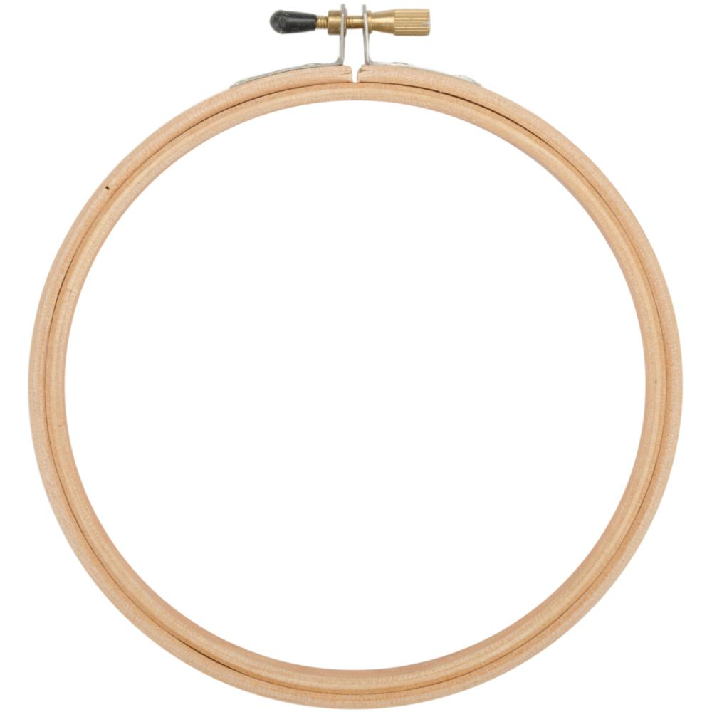 "9"" Superior Rounded Edge Wood Hoop"