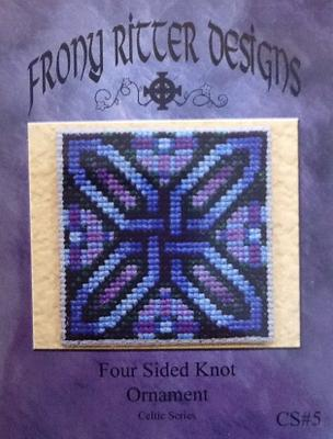Four Sided Knot Ornament