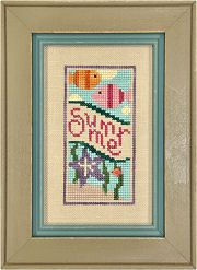 Boxer Jr - A Banner Year Summer - Cross Stitch Pattern