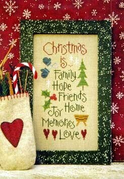 Christmas Is... - Cross Stitch Pattern