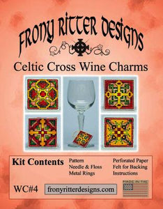 Celtic Cross Wine Charms Kit