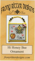Hi Honey Bee Ornament