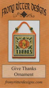 Give Thanks Ornament