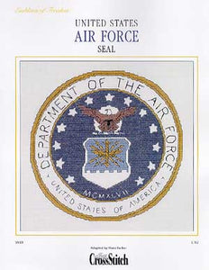 United States Air Force Seal - Cross Stitch Pattern