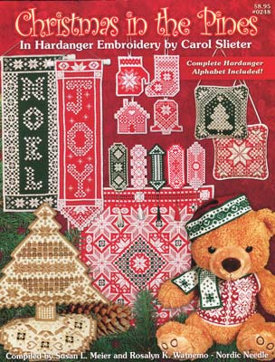 Christmas in the Pines Hardanger Embroidery by Carol Slieter