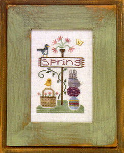 Signs of Spring - Cross Stitch Pattern