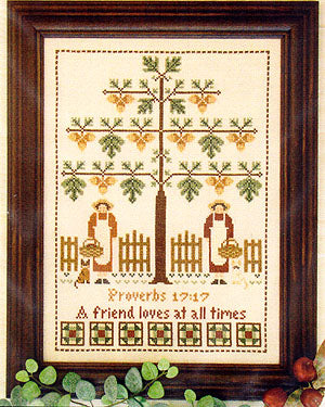 The Friendship Tree - Cross Stitch Pattern