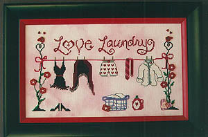 Love Laundry - Cross Stitch Pattern