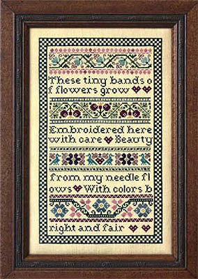 Beauty from My Needle - Cross Stitch Pattern