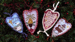 Merry Heart Ornaments I