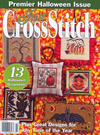 Just CrossStitch - Volume 26, Number 5 October 2008