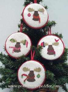 Merry ChristMoose - Cross Stitch Pattern