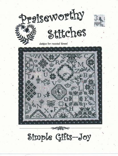 The Simple Gifts - Joy - Cross Stitch Pattern