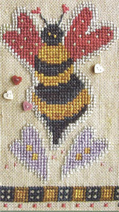 A Dozen Buzzin's #2 - February Buzzz - Cross Stitch Pattern