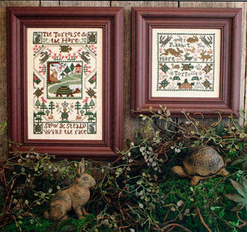 Tortoise & the Hare - Cross Stitch Pattern