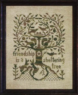 A Sheltering Tree - Cross Stitch Pattern