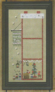 Snappers The Christmas House #1 - Garland Party - The Starlight Stitchery