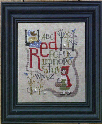 Once Upon a Stitch - Red - Cross Stitch Pattern