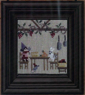 Snappers The Green House #2 - Dinner's Ready - The Starlight Stitchery