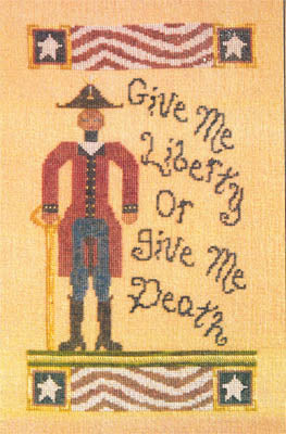 Americana Series - Patrick Henry - Cross Stitch Pattern