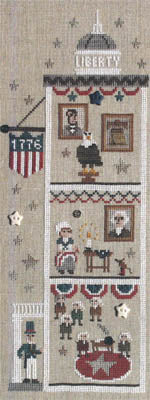 Snappers Liberty House - Let Freedom Ring - Cross Stitch Pattern