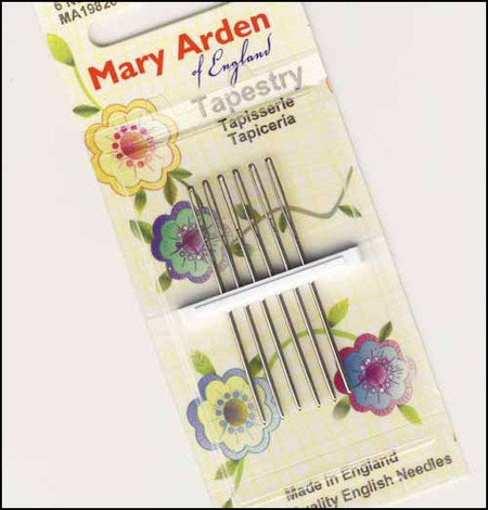 Mary Arden Tapestry Needles Size 24/26