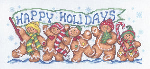 Happy Gingers - Cross Stitch Pattern