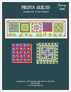 Fiesta Quilts - Cross Stitch Pattern