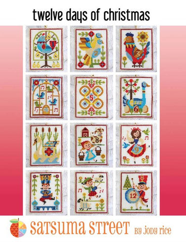 Twelve Days of Christmas - Cross Stitch Pattern