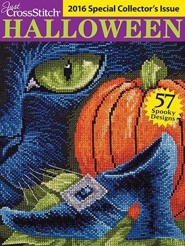 Just CrossStitch - 2016 Halloween Special Collector's Issue
