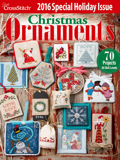 Just CrossStitch - Christmas Ornaments 2016