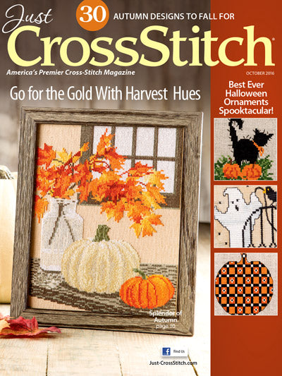Just CrossStitch - Volume 34, Issue 5 October 2016