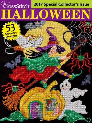 Just CrossStitch - 2017 Halloween Special Collector's Issue