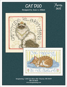 Cat Duo - Cross Stitch Pattern