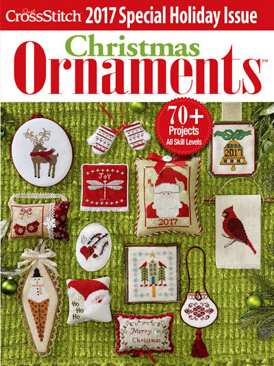 Just CrossStitch - Christmas Ornaments 2017