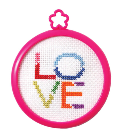 My 1st Stitch Kit - Love - The Starlight Stitchery
