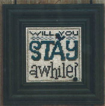 Snapper - Will You Stay A While - The Starlight Stitchery