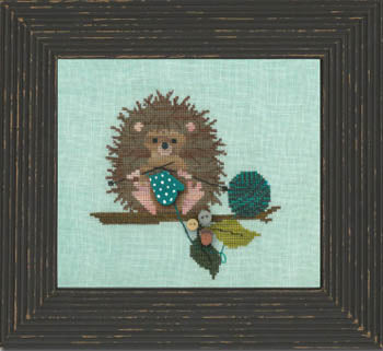 Woodland Whimsy #2 - Woodland Hedgehog
