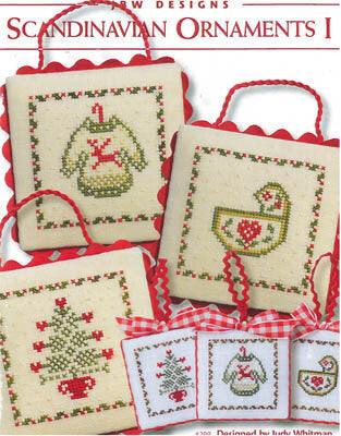 Scandinavian Ornaments I - Cross Stitch Pattern
