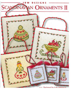 Scandinavian Ornaments II - Cross Stitch Pattern