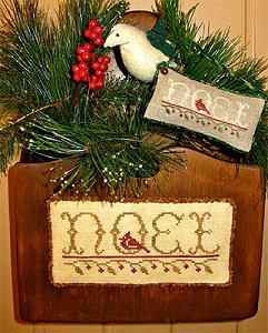 Merry Noel - Wondrous Noel - Cross Stitch Pattern