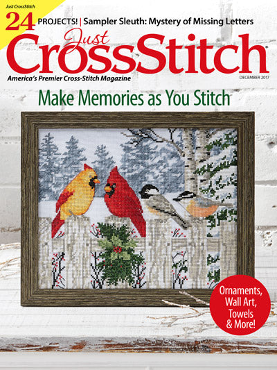 Just CrossStitch - Volume 35, Issue 7 December 2017